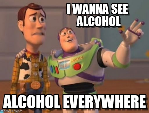 Day Drinking Meme Alcoholic